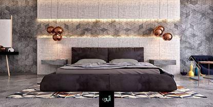 تصویر دکوراسیون اتاق خواب دو نفره