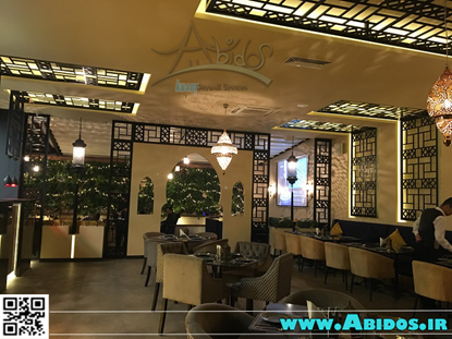 تصویر دکوراسیون رستوران ترکی ( اجرایی )