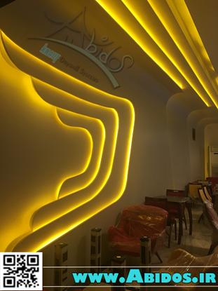 تصویر دکوراسیون رستوران مدرن ( اجرایی)